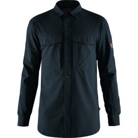 Fjällräven Abisko Trekking Camiseta Hombre, dark navy